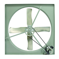 "TPI 30"" 115V 1/3 HP 1PH Commercial Belt-Drive Exhaust Fan - CE30B"