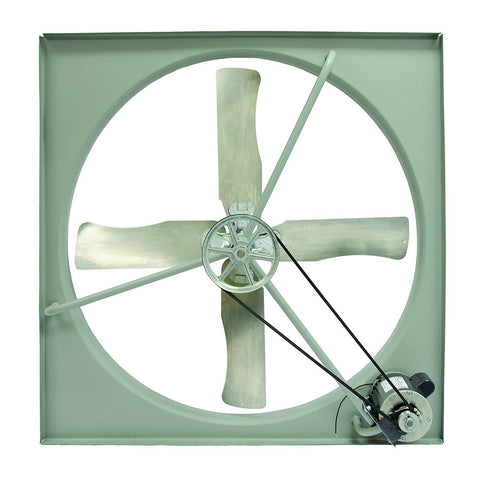 "TPI 30"" 230/460V 1/3HP 3PH Commercial Belt-Drive Exhaust Fan - CE30B3"