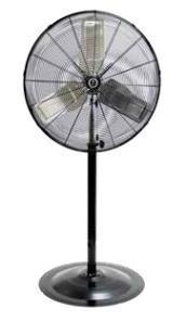 "TPI 30"" Heavy-Duty Commercial Circulator Pedestal Fan - CACU30PHD"