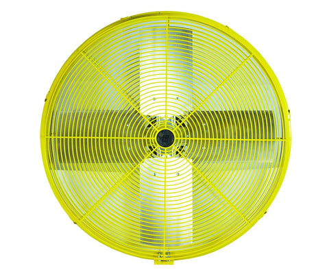 "TPI 30"" Industrial Assembled Super Duty Fan (Yellow) - HDH30JR"