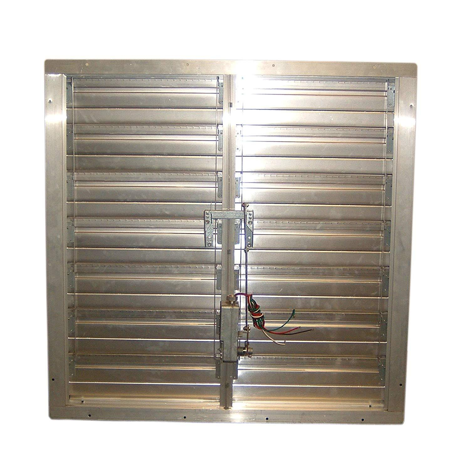 "TPI 30"" Motorized Supply Air Intake Shutter - CESM30"