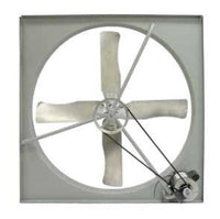 "TPI 36"" 230/460V 1/2 HP 3PH Commercial Belt-Drive Exhaust Fan - CE36B3"