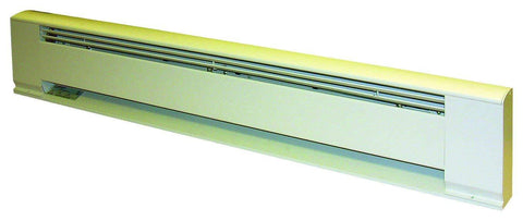 "TPI 375W 208V 24"" Arch. Baseboard Heater w/ Steel Element (White) - F3703024"