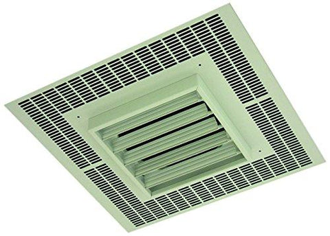 TPI 3KW 480V 1PH 3480 Series Commercial Fan Forced Recessed Mounted Ceiling Heater - P3483A1