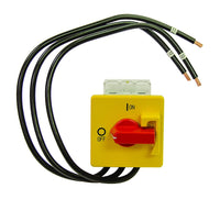 TPI 40 Amp 3-Pole Disconnect Switch for Series 5100 Mounted Fan Forced Unit Heater - DCS403/5100