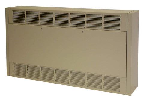TPI 3/5KW 240V 1/3PH 6300 Series Multiple Angle Cabinet Unit Heater - 6333D052433B30D0F