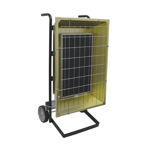 TPI 4.30 KW 208V FSP Series Portable Infrared Flat Panel Heater - FSP43203
