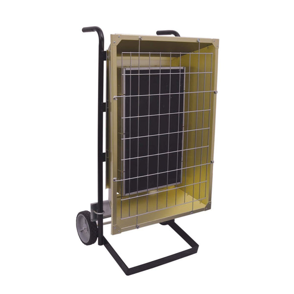 TPI 4.30 KW 240V FSP Series Portable Infrared Flat Panel Heater - FSP43243