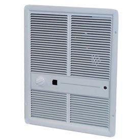 TPI 4000W 208V 3310 Series Fan Forced Wall Heater (Ivory) - Without Summer Fan Switch - 1 Pole Thermostat - F3316TRP
