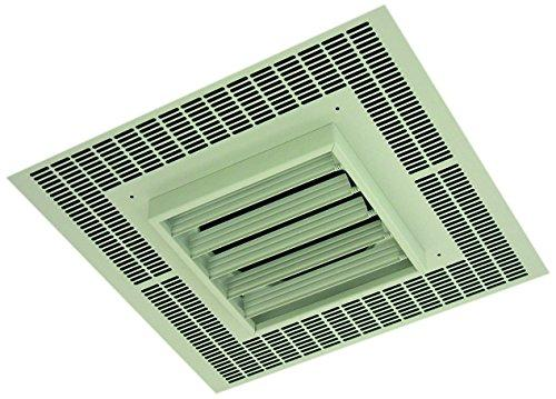TPI 4KW 208V 1PH 3480 Series Commercial Fan Forced Recessed Mounted Ceiling Heater - F3484A1