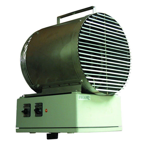 TPI 5KW 240V 3 Phase 5500 Series Wash-Down Fan Forced Unit Heater - H3H5505T
