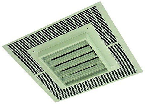 TPI 5KW 277V 1PH 3480 Series Commercial Fan Forced Recessed Mounted Ceiling Heater - G3485A1