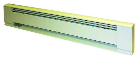 "TPI 600W 208V 36"" Arch. Baseboard Heater w/ Steel Element (White) - F3706036"