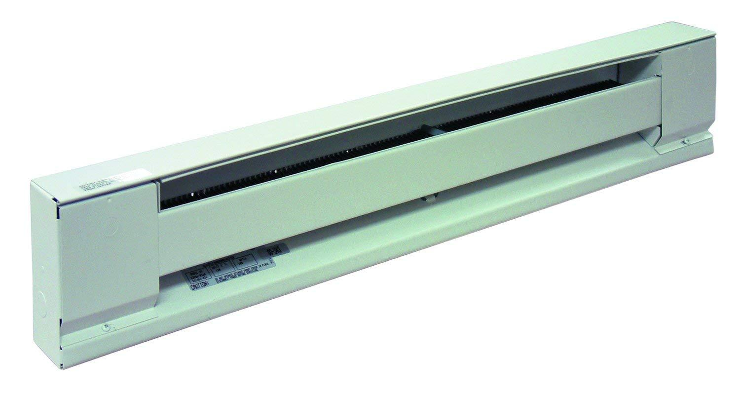 "TPI 600W 240V 36"" High Altitude Baseboard Heater (White) - H2906036HAW"