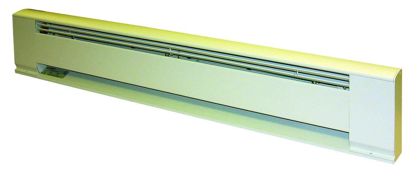 "TPI 600/450W 240/208V 36"" Arch. Baseboard Heater w/ Steel Element (White) - H3706036"