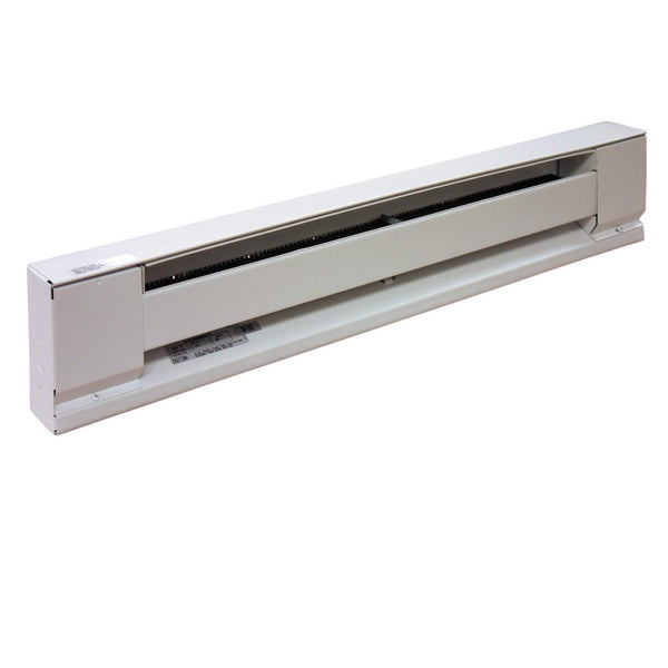 "TPI 600/450W 240/208V 36"" Baseboard Heater w/ Steel Element (White) - H2906036SW"