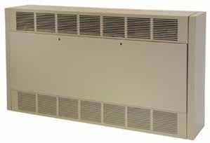 TPI 6/10KW 240V 1/3PH 6300 Series Multiple Angle Cabinet Unit Heater - 6346D102433B30D0F