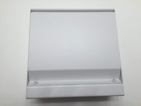 "TPI 6"" Blank Relay Section for 2900 Series Heaters (White) - LVRSW"