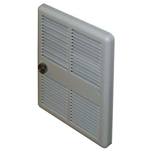TPI 750W 240V 3200 Series Midsized Fan Forced Wall Heater, No Thermostat - H3275RPW