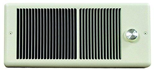 TPI 750/562W 240/208V 4300 Series Low Profile Fan Forced Wall Heater - No Thermostat - Ivory w/ Box - HF4375RP