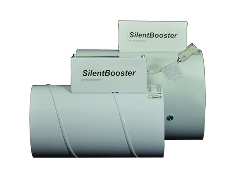 "TPI 8"" SilentBooster Supplemental Duct Mounted Boosting System w/ Cordset - SB8120CT"