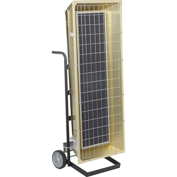 TPI 9.50 KW 480V FSP Series Portable Infrared Flat Panel Heater - FSP95483