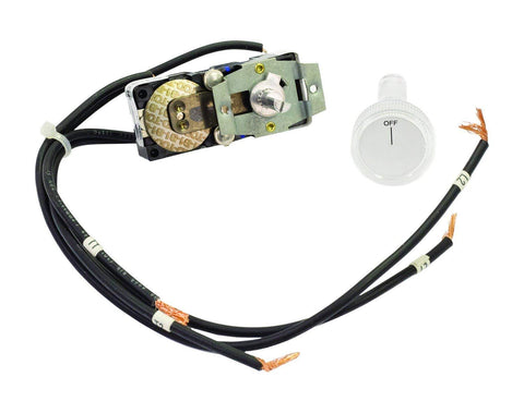 TPI Double Pole Thermostat with Positive Off for 3200 Series Midsized Fan Forced Wall Heater - 32T2