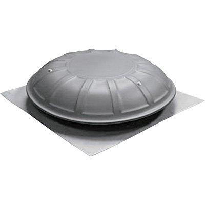 TPI Dome Ventilator, 1/10 HP, 1 SPEED, Gray - PDV3051MBGYG