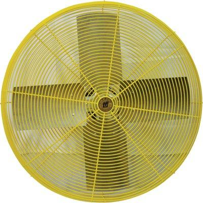 "TPI 30"" 1/2 HP 2-Speed Industrial Heavy Duty Yellow Air Circulator - HDH30"