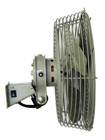 TPI Low Velocity Special Application Workstation Fan - N12