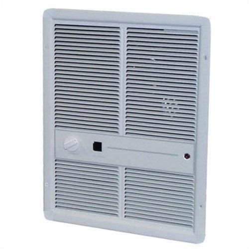 TPI Multi Watt 240/208V 3310 Series Fan Forced Wall Heater (Ivory) - Without Summer Fan Switch - No Thermostat - HF3315RP