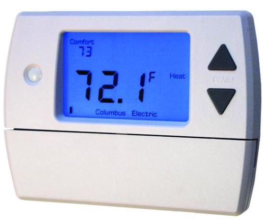 TPI Setback on Demand Thermostat for Clever Comfort System - SDRF1001