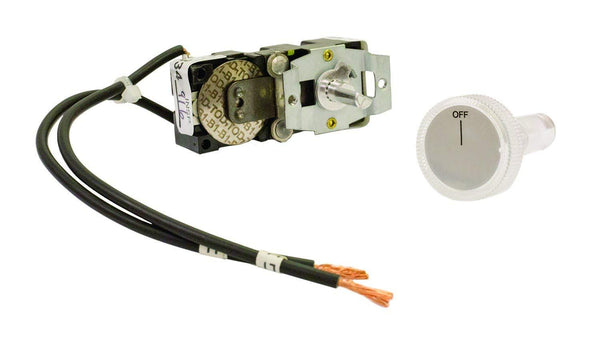 TPI Single Pole Thermostat with Positive Off for 3200 Series Midsized Fan Forced Wall Heater - 32T1