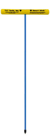 "T&T Tools 48"" Smart Stick Standard Soil Probe, 3/8"" Hex Rod - TPA48-X"