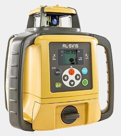 Topcon Rechargeable Single Slope Laser Level RL-SV1S with LS100D Receiver - 313990776