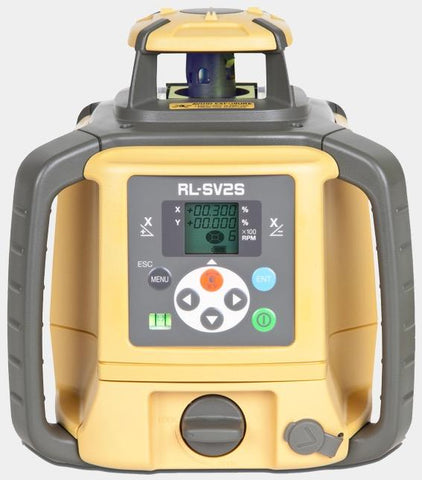 Topcon Rechargeable Multi-Purpose Rotary Laser Level Pro Package RL-SV2S - 313990772