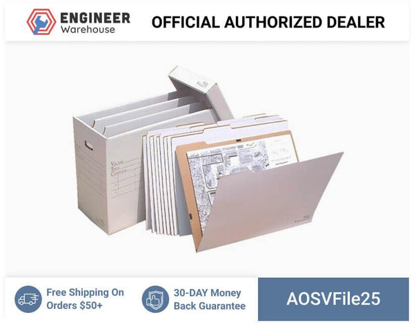 AOSVFile25-W-10-VFolder25-Stores-Flat-Items-Up-to-18x24