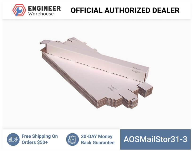 AOSMailStor31-3-3x3x31-Self-Locking-Mailer-and-Storage-Solution