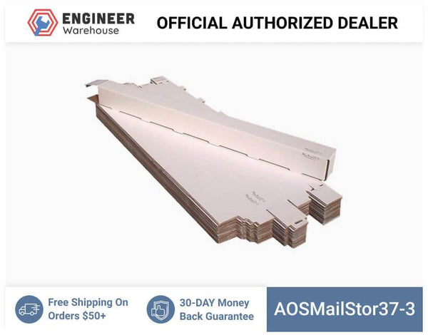 AOSMailStor37-3-3x3x37-Self-Locking-Mailer-and-Storage-Solution
