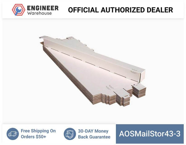 AOSMailStor43-3-3x3x43-Self-Locking-Mailer-and-Storage-Solution