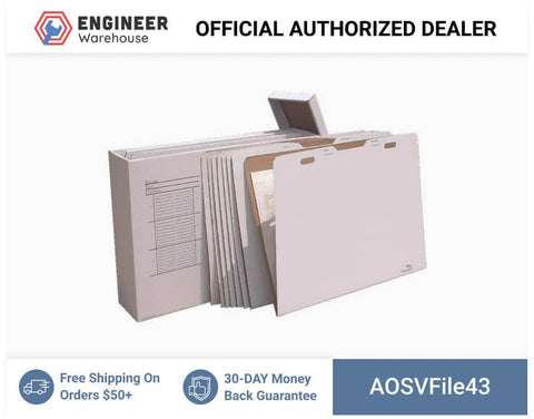 AOSVFile43-W-8-VFolder43-Stores-Flat-Items-Up-to-30-X-42