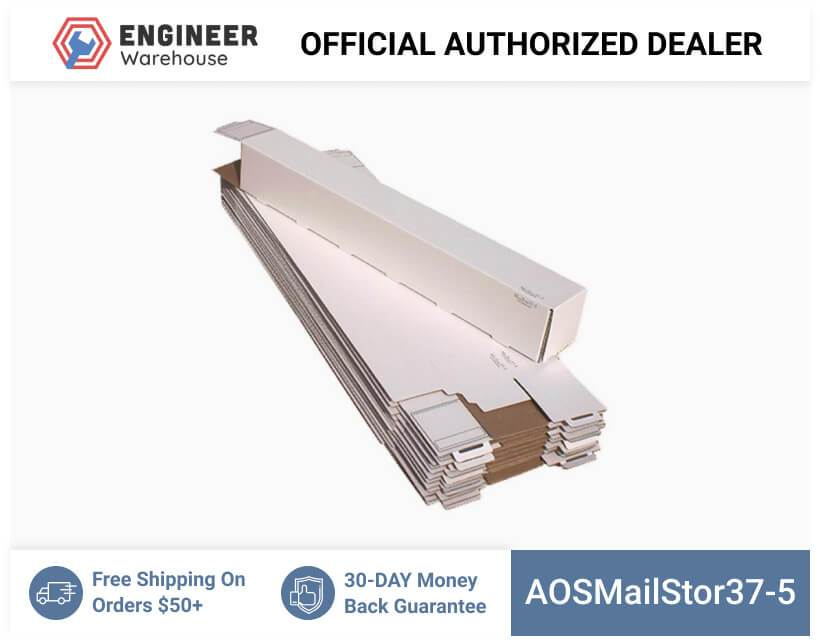 AOSMailStor37-5-5x5x37-Self-Locking-Mailer-and-Storage-Solution