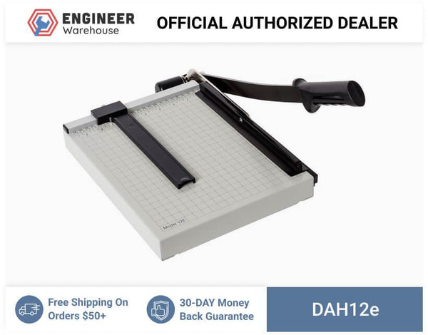 "Dahle Vantage Series Personal Paper Cutter with 12"" Cut Length - 12e"