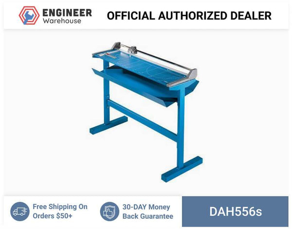 "Dahle, Professional Large Format Rolling Trimmer with stand, Cut Length 37 3/4"", 556s"
