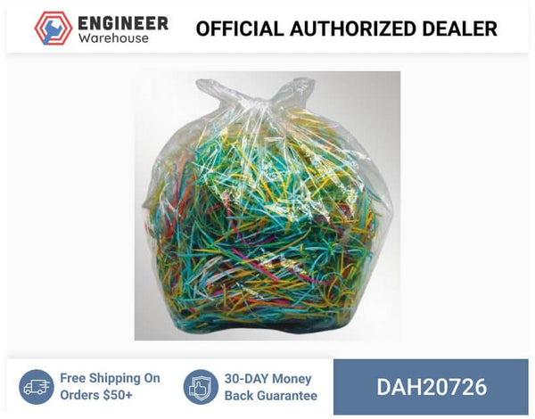 Dahle, Shredder Supplies, Shred Bags- For 38 gal. & larger shredders (100/box), 20726