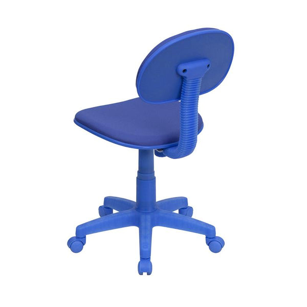 Flash Furniture Blue Fabric Swivel Task Chair - BT-698-BLUE-GG