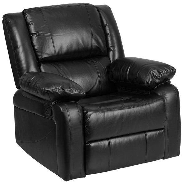 Flash Furniture Harmony Series Black Leather Recliner - BT-70597-1-GG