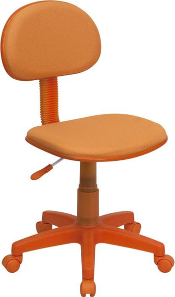 Flash Furniture Orange Fabric Swivel Task Chair - BT-698-ORANGE-GG