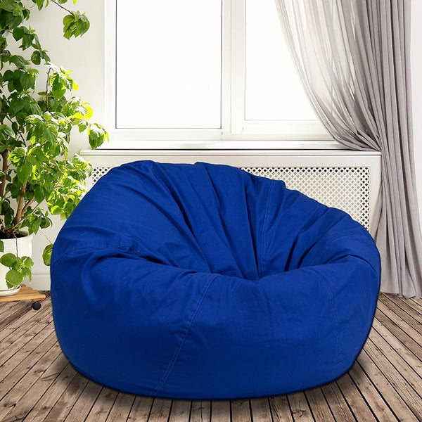 Flash Furniture Oversized Solid Royal Blue Bean Bag Chair - DG-BEAN-LARGE-SOLID-ROYBL-GG