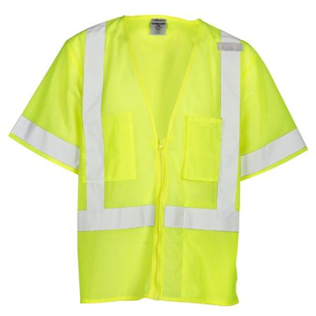 ML Kishigo Class 3 Economy All Mesh Vest Large (Lime) - 1264L
